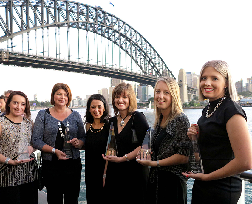 Opteon Staff Award Winners
