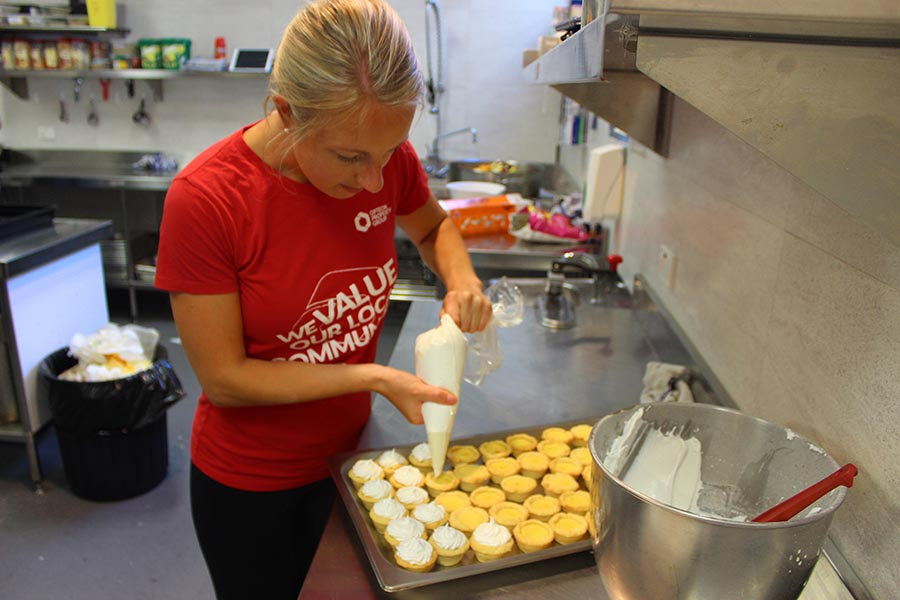 Opteon Team in Perth Cook Up a Storm at New Local 'Ronald McDonald House'