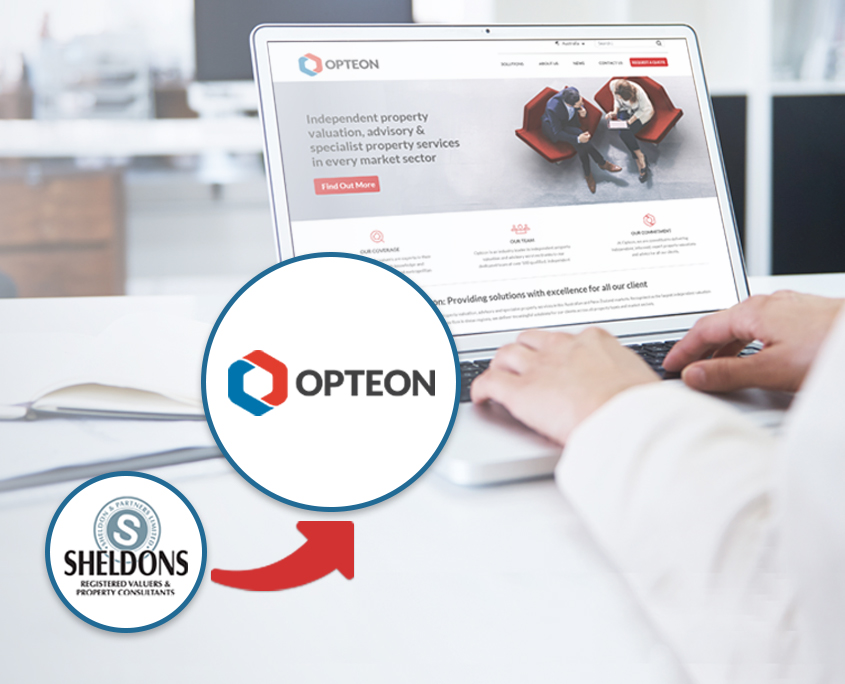 New Sheldons Property Valuers Website - Now Known as Opteon